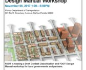 Context Classification and FDOT Design Manual Workshop