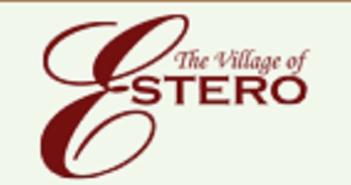 The Village of Estero proposed Bicycle Pedestrian Master Plan