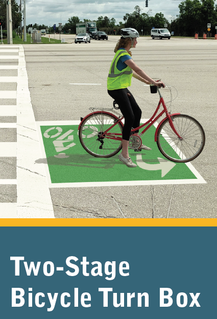 Two-Stage Bicycle Turn Box